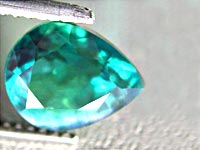 Alexandrite drop cut