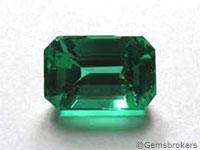Emerald octagon cut